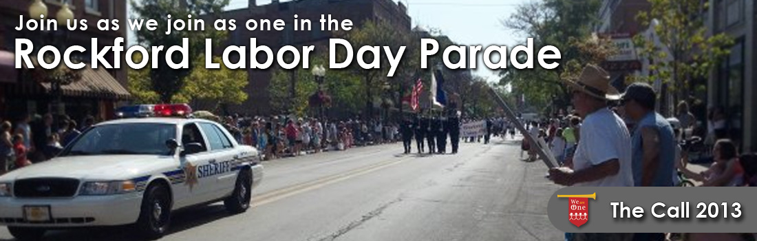 Labor Day Parade 2013 - Rockford Illinois - The Call